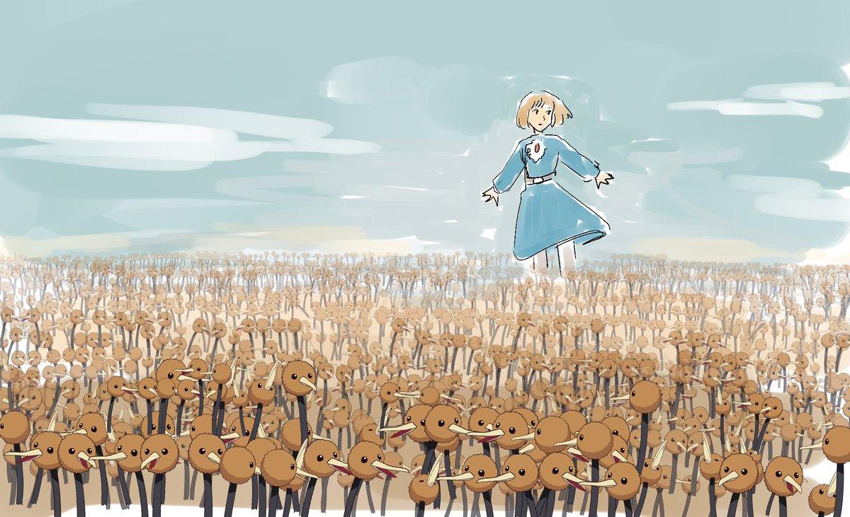「その者、青き衣をまといて金色の野に……」 ナウシカ「なんかちがくね?これ」
