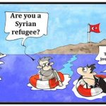 Are you a Syrian refuggie? No...Turkish journalist... https://t.co/D415HhGFdR