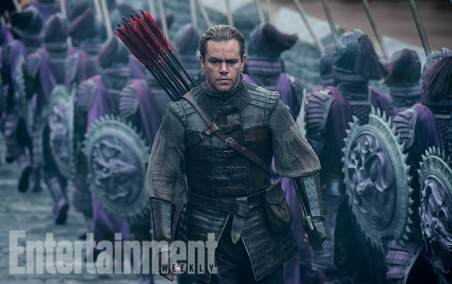 Exclusive: First look at Matt Damon in @universalpics' monster movie 'The Great Wall': 👏