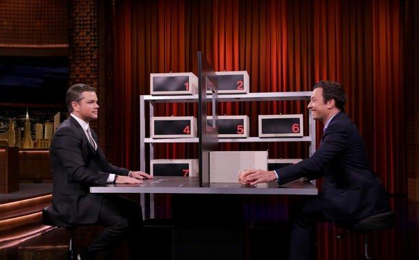 Matt Damon and @jimmyfallon play Box of Lies on FallonTonight: