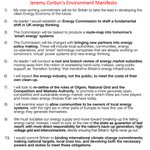 10 policies from Jeremy Corbyns Environment Manifesto. We need to move away from Fracking to sustainable energy https://t.co/5kIKX4qLDR