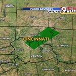 Flood advisory for #Cincinnati until 7:30AM. Kenton, Campbell, Boone, Clermont & Hamilton Co. @wcpo #cincywx https://t.co/LANM6Clp4l