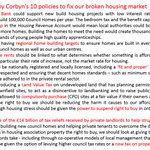 The UK Housing Market does not work for us ordinary people. Here are 10 policies from Jeremy Corbyn to fix that. https://t.co/24oeyamN5z