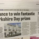 Great @VisitBawtry prizes for #YorkshireDay in @DonnyFreePress today! @VisitDoncaster #doncasterisgreat https://t.co/VljfuTHXep