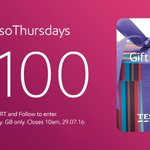 Lets play a game. RT & FLW for your chance to win a £100 Tesco voucher! #EssoThursdays https://t.co/EcQP7u1ZJI https://t.co/v8LPzoY44b