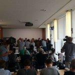 Volles Haus bei der #Agh16 Pressekonferenz der #AfD #Berlin. #bvv16 https://t.co/UsoifbEqA6