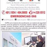 @CAPTAcapulco 24 Hrs 365 días a sus órdenes en #Acapulco #Guerrero #México #CAPTAcapulco https://t.co/nQOGxKiyfN