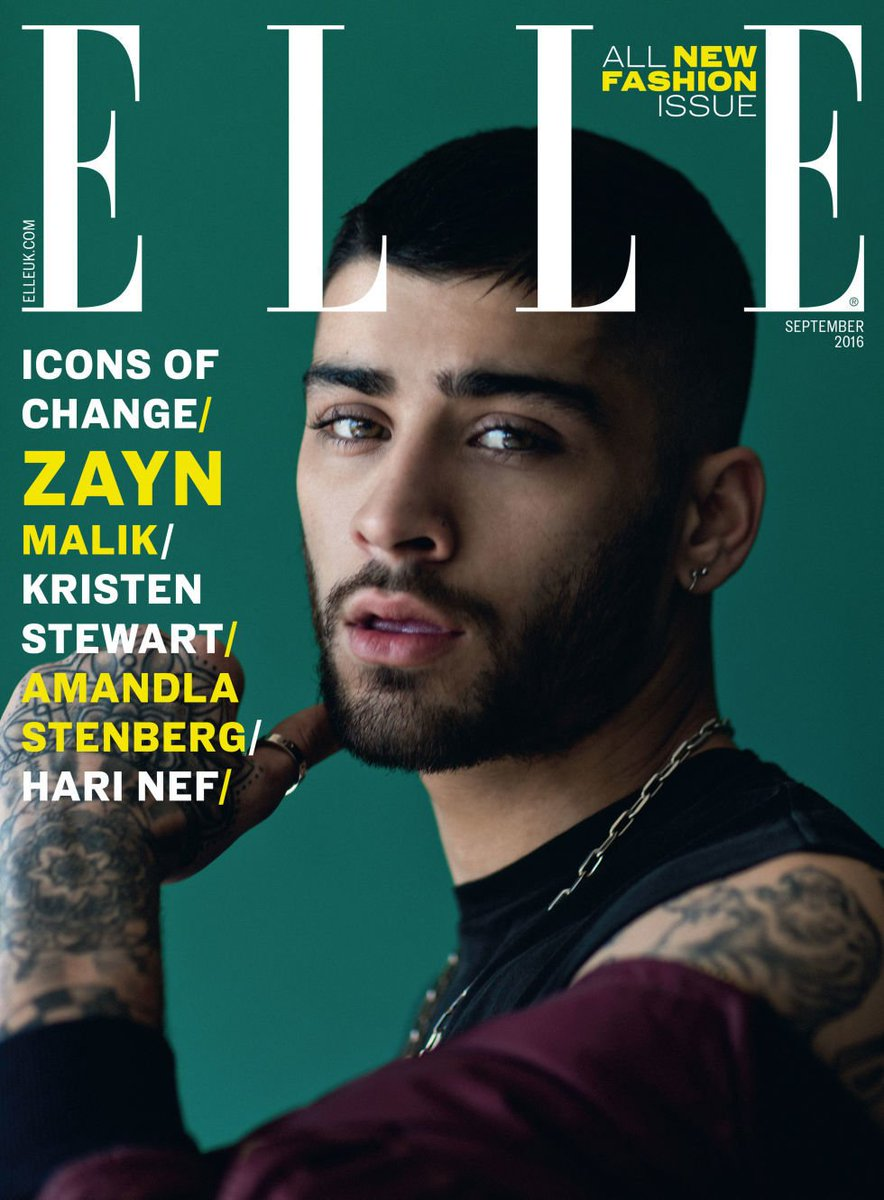 IT'S HERE — prepare to swoon! @ZaynMalik's ELLE cover has landed https://t.co/Dx65vQoEws https://t.co/mmqF70MzZr