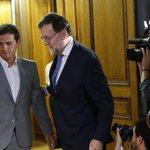 ".@Albert_Rivera pide a Rajoy que no diga ""otra vez no"" al Rey. Por @mariano_alonsof https://t.co/BGANKTtz2W https://t.co/mKF5tVeKWH"