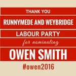 Thank you @RunnymedeLabour for nominating Owen last night #Owen2016 https://t.co/LAd2U6fyPc