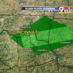 Flash flood warning until 8:15AM for Campbell, Kenton, Clermont & Hamilton Co. @wcpo #cincywx https://t.co/YLlE8OrgBO