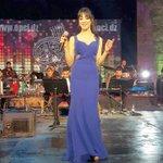 #سهيلة_بن_لشهب تتألق بفستانها الازرق في #مهرجان  #الكازيف https://t.co/t8D7mvvJE0 https://t.co/T8wjHB9D2K