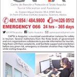 @CAPTAcapulco 24 Hrs 365 días a sus órdenes en #Acapulco #Guerrero #México #CAPTAcapulco https://t.co/RghqCZpjmN