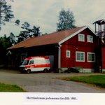 Herttoniemen paloasema kesällä 1981. Paikalla on nyt pelastuslaitoksen harjoitusalue. #pelastustoimi #helsinki https://t.co/VfGTlqe6vx