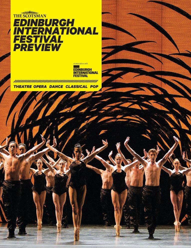 In Saturday's @TheScotsman, our critics' 12-page guide to this year's @edintfest https://t.co/oyLIDqHZOJ