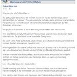 Warnung an alle #Trittbrettfahrer. via Polizei #München (@PolizeiMuenchen) https://t.co/W9frpuxD80 #OEZ #Bayern https://t.co/3RtWXdfubY