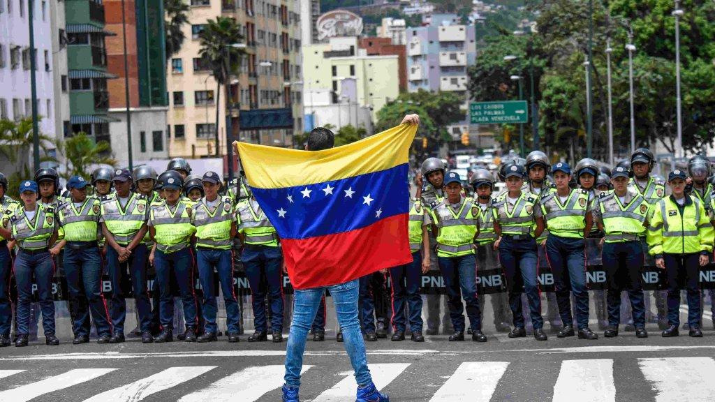 Defiant Venezuelan opposition marches for recall vote