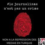 #Turquie : 131 #médias fermés hier soir, l'UE doit agir! https://t.co/HPNHYtBj7E #journalismisnotacrime @EFJEUROPE https://t.co/w8gmSVZ4Be