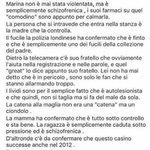 Non è una trovata pubblicitaria, la ragazza soffre di schizofrenia. #savemarinajoice https://t.co/t44FYVZ1FV