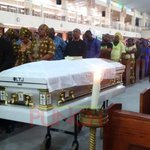 BREAKING: Ex-Super Eagles coach, Keshi's funeral mass begins https://t.co/LolNBDIIZu https://t.co/lsyD4L4a79