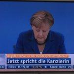 Jetzt live im Deutschen Fernsehen! Die unsägliche A B L E S E K A N Z L E R I N!😏 #merkelland #Merkel #merkelsommer https://t.co/L5nQLWsHBM