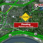 Latest report of flooding on Madison at Dana @WCPO #9Traffic https://t.co/3oLAmEQwmv