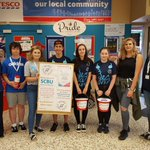 Supporting @NCS instore today bag packing for @WyeValleyNHS Special Care Baby Unit #community https://t.co/tEhGN0hPYR