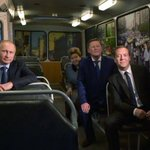This is not a weird dream, this is a real 2015 photo of Putin, Medvedev, et al, at the Yeltsin Center. #tbt https://t.co/HNDhKxYBuC
