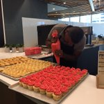 Prepping cupcakes to celebrate Pride at @MicrosoftVan. Imma gonna eat chooooo. Seriously, <3 that we are doing this https://t.co/cD9o2qVUWV