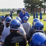 New Oscar Smith coach Bill Dee - who won four state titles at Phoebus - talks to the Tigers. https://t.co/E3x9vyg2F0