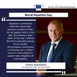 #WorldHepDay: latest #hepatitis data from @ECDC_EU & related #EU action https://t.co/3JL2ZDgWwf #WorldHepatitisDay https://t.co/5IfUQ7bdqZ