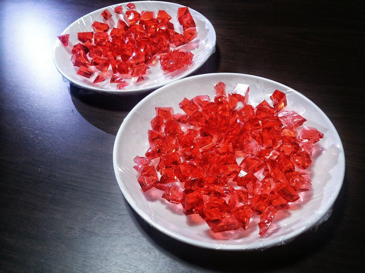 賢者の石、錬成―――。 その対価は「寒天、グラニュー糖、色紅、水」