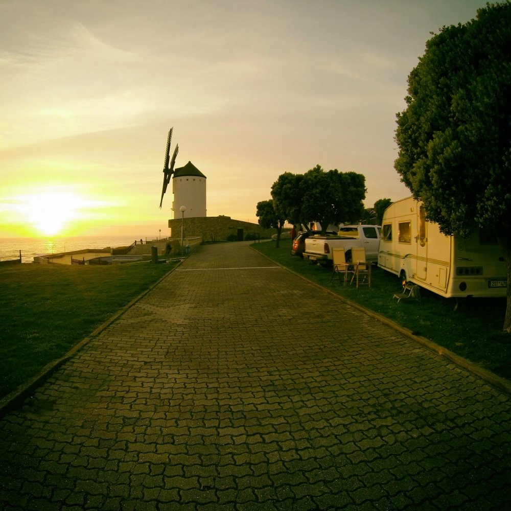 Camping at the Portugese Coast - Awesome views every evening makes this ACSI camping special #caravan #digitalnomad https://t.co/W9BV8SiQzP