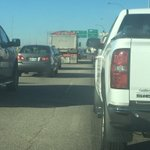 DELAYS: SB Hwy 59 entering the city. Lined up past Birds Hill Road and moving very slowly #Traffic #Winnipeg https://t.co/yaMGnpocPT