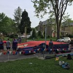 Setup is underway for Vault Vic Park! Action starts at 11am on Central Ave next to Victoria Park #ComeFlyWithUs https://t.co/WdlPleiBWM