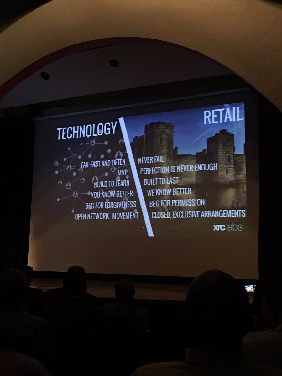 .@ptanthos on key differences between the tech and retail worlds. Tough truths! #xrcdemoday @xrclabs https://t.co/S4G2i4nF3F