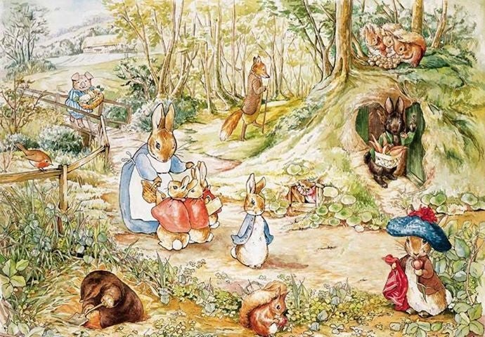 Celebrating 150 years of the brilliant #BeatrixPotter! https://t.co/VQBKBe4Y25 #kidlit https://t.co/SU8bEPwJhU