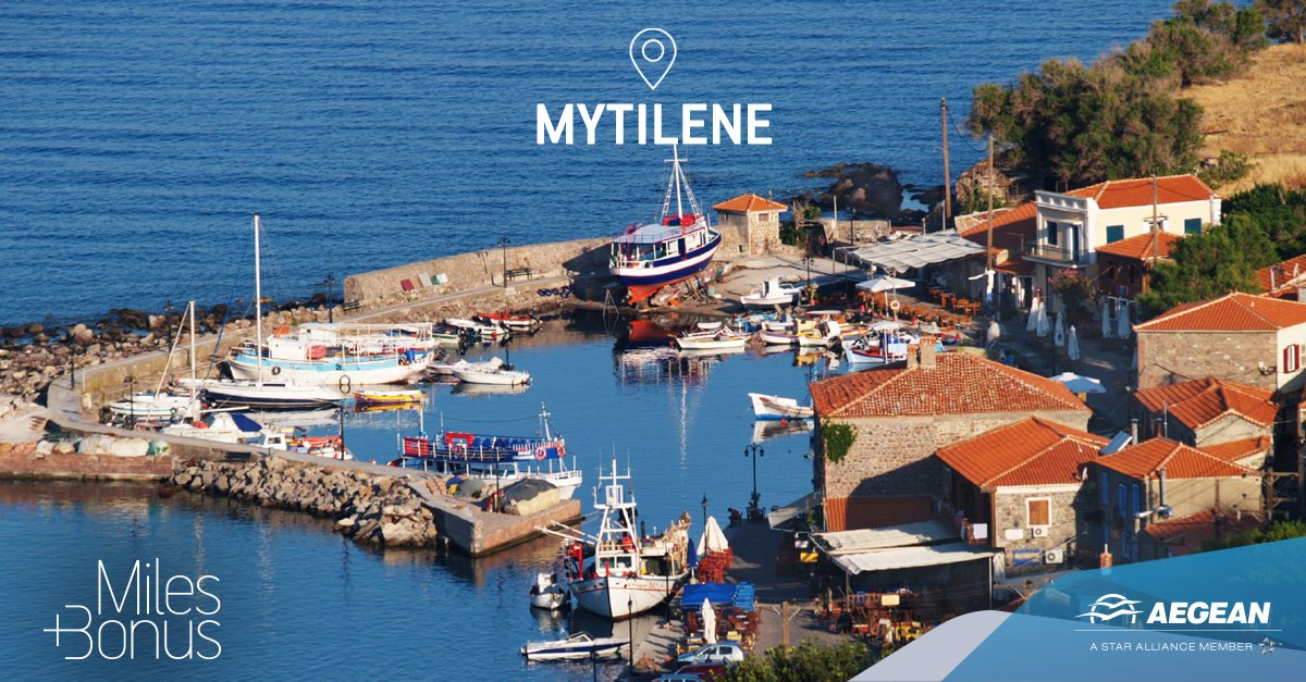 Our new Miles+Bonus partners in Mytilene will elevate your vacation!