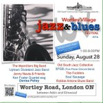 The 6th annual Wortley Village Jazz & Blues Fest, Aug 28, presented by the Old South Community Organization https://t.co/E0RFuvxb6B