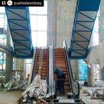 ¡Vamos que vamos! Ya se instalan las escaleras eléctricas en el @PuertadeOroBaq ¡Prepárate @sabor_bquilla! https://t.co/YQb62aH918