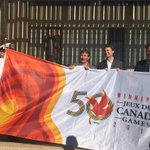 Countdown is on! Celebrating one year until the @2017CanadaGames in #Winnipeg with a flag raising at City Hall. https://t.co/ELkokZPdCf