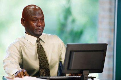 When you clock in at 9, work for 7 hours & then realize it's only 9:30