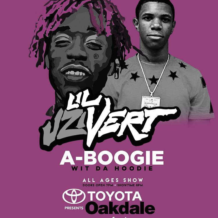 A BOOGIE W THE HOODIE JUST added to lil uzi vert concert august 7 Ct we are lit ! https://t.co/lDagoOfnhy 2035082468 https://t.co/Svz5GLJjbm