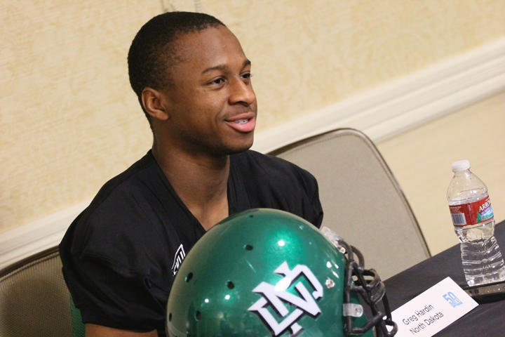 FOOTBALL: Former UND star Greg Hardin joining the coaching ranks