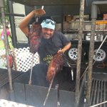 Meanwhile, vendors are getting set up for #Ribfest! #ldnont https://t.co/Z98nxKnYdd
