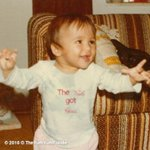 #TBT I used to be a cute baby. What happened to me? If you read the shirt this kid definitely has class. :) https://t.co/xhdbquNPqa
