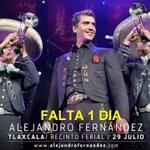 El concierto está 100% confirmado, Alejandro Fernández está muy contento de regresar a #Tlaxcala. @prensa_linares https://t.co/rWWCPNKtk8