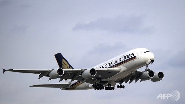 Singapore Airlines says Q1 net profit nearly