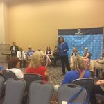 The first trans caucus at the DNC. There are more trans delegates than black delegates at the RNC https://t.co/CAV2ompu3n