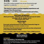 Check out @are506fest this weekend at Long Wharf! https://t.co/KQknwdRwkV  #SaintAwesome #livelifeuptown #explorenb https://t.co/W34JL4vuJ2